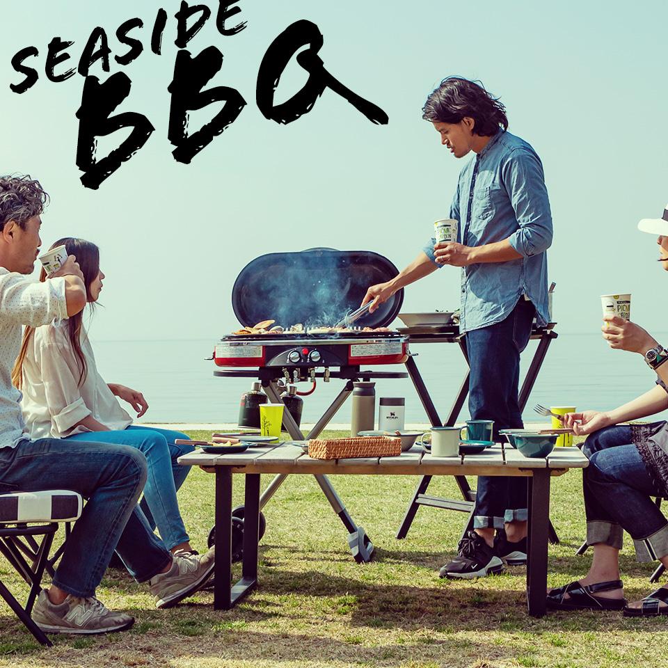 淡路島のピクニックガーデンで海の見えるBBQ