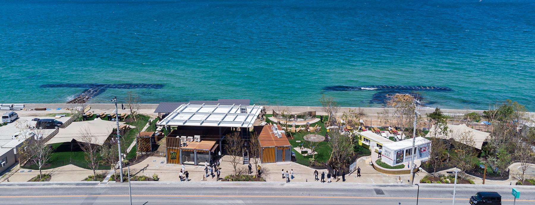 海辺と緑の開放感溢れるフィールドでピクニックとBBQ「PICNIC GARDEN」オープン!