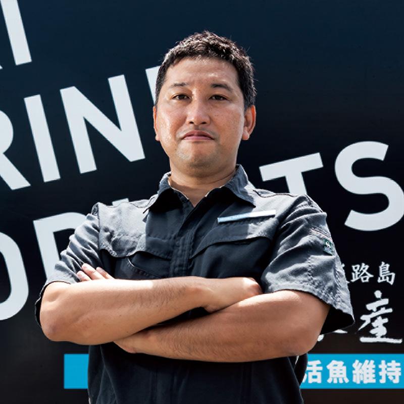 株式会社森水産 代表取締役 森 淳